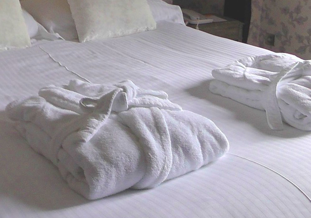 Le accoglienti camere dell'Hotel Europa Rimini