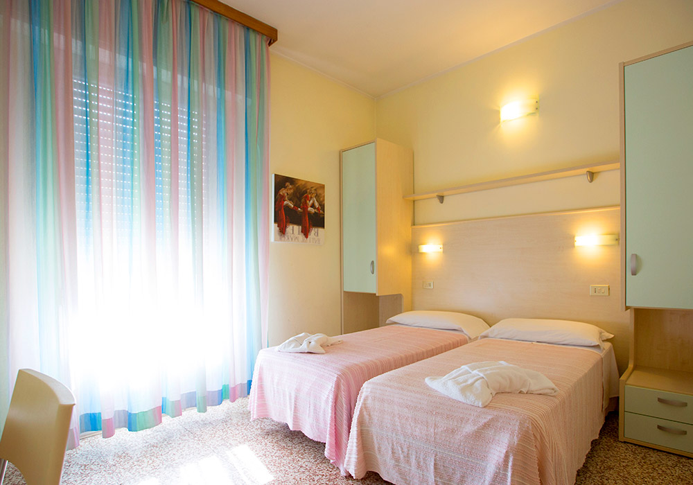 Le camere dell'Hotel Europa 3 stelle