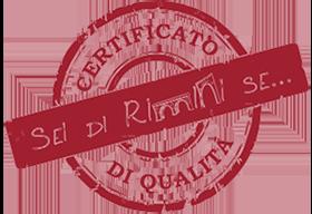 Certificato Sei di Rimini se...